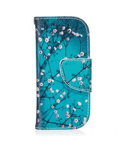 Nokia 3310 Pattern Printing Wallet Case, Tree Flower.