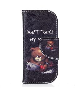 Nokia 3310 Pattern Printing Wallet Case, Brown Bear.