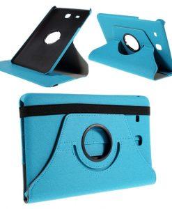 Samsung Galaxy Tab E 9.6 Rotary Case, Sininen.