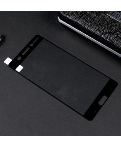 Nokia 6 Full Covering Panssarilasi, Musta.