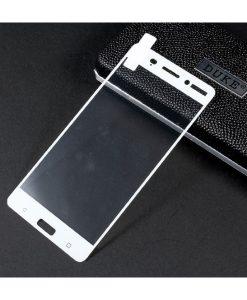 Nokia 6 Full Covering Panssarilasi, Valkoinen.