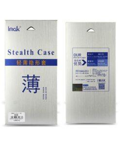 Nokia 3 IMAK Clear Soft Case + Suojakalvo, Kirkas.