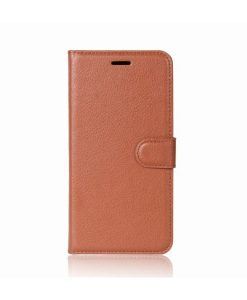 Samsung Galaxy J5 (2017) Wallet Leather Case, Ruskea.