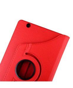 """Huawei MediaPad M3 8.4"""" Rotary Stand Suojakotelo, Punainen."""