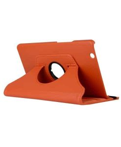 "Huawei MediaPad M3 8.4"" Rotary Stand Suojakotelo, Oranssi."