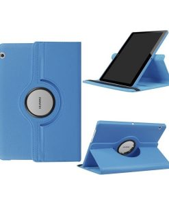 "Huawei MediaPad T3 10"" Rotary Stand Suojakotelo, Sininen."