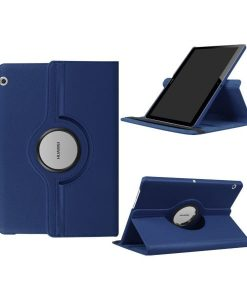 "Huawei MediaPad T3 10"" Rotary Stand Suojakotelo, Dark Blue."