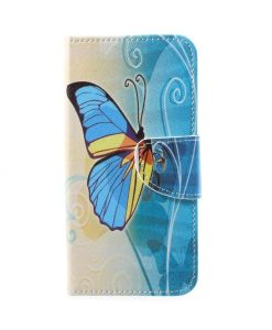 Huawei Honor 9 Pattern Printing Wallet Case, BYB.