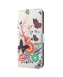 Huawei Honor 9 Pattern Printing Wallet Case, CB.