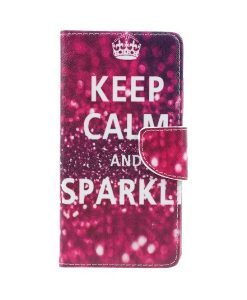 Lenovo P2 Pattern Printing Wallet Case, Keep Calm.