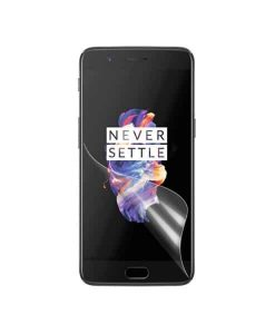 OnePlus 5 Clear LCD Suojakalvo, Kirkas.