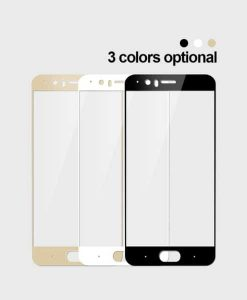 OnePlus 5 MOFI Full Size Panssarilasi, Gold.