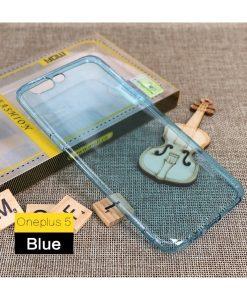 OnePlus 5 MOFI Ultra Thin Silikonisuoja, Sininen.