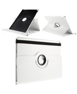 """Apple iPad Pro 12.9"""" Rotary Stand Suojakotelo, Valkoinen."""