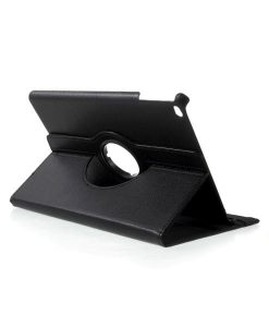 Apple iPad 9.7 (2017) Rotary Stand Suojakotelo, Musta.