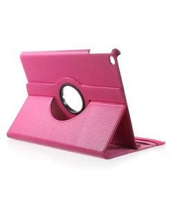 Apple iPad 9.7 (2017) Rotary Stand Suojakotelo, Rose.