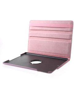 Apple iPad 9.7 (2017) Rotary Stand Suojakotelo, Pink.