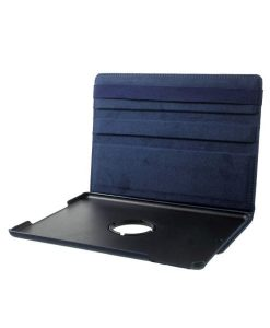 Apple iPad 9.7 (2017) Rotary Stand Suojakotelo, Dark Blue.