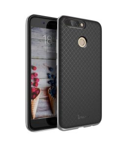 Huawei Honor 8 Pro IPAKY Hybrid Case Cover, Harmaa.