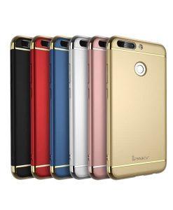 Huawei Honor 8 Pro IPAKY Carbon Fiber Case, Valkoinen.