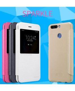 Huawei Honor 8 Pro Nillkin Sparkle Suojakotelo, Valkoinen.