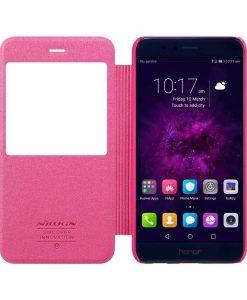 Huawei Honor 8 Pro Nillkin Sparkle Suojakotelo, Rose.