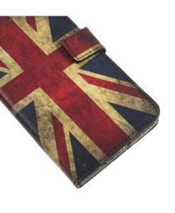 Huawei Honor 8 Pro Pattern Printing Wallet Case, UK Flag.