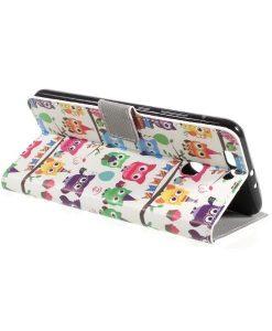 Huawei Honor 8 Pro Pattern Printing Wallet Case, Owl 3.