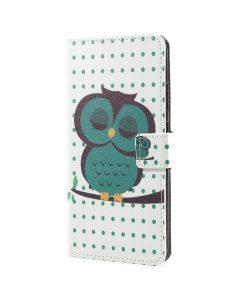 Huawei Honor 8 Pro Pattern Printing Wallet Case, Owl 1.