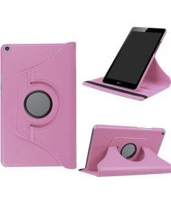 Huawei MediaPad T3 8 Rotary Stand Suojakotelo, Pink.