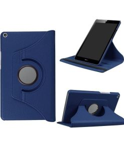 Huawei MediaPad T3 8 Rotary Stand Suojakotelo, Dark Blue.