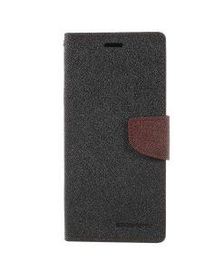 Samsung Galaxy Note 8 Mercury Goospery, Musta/Ruskea.
