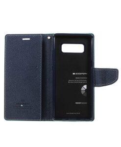 Samsung Galaxy Note 8 Mercury Goospery, Cyan.