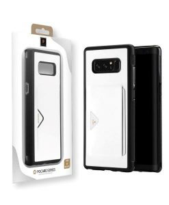 Samsung Galaxy Note 8 DUX DUCIS Pocard Series, Valkoinen.