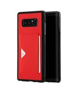 Samsung Galaxy Note 8 DUX DUCIS Pocard Series, Punainen.