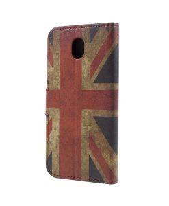 Samsung Galaxy J7 (2017) Printing Wallet Case, UK Flag.