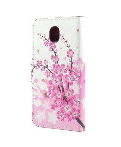 Samsung Galaxy J7 (2017) Printing Wallet Case, Pink Plum.