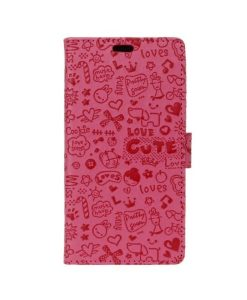 Lenovo A Plus Cartoon Graffiti, Rose.