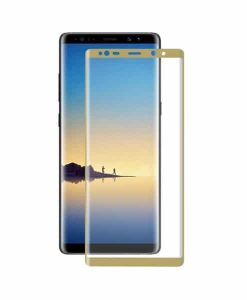 Samsung Galaxy Note 8 HAT PRINCE Full Panssarilasi, Gold.