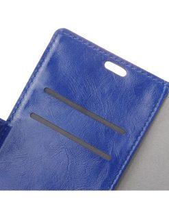 Nokia 8 Crazy Horse Suojakotelo, Sininen.