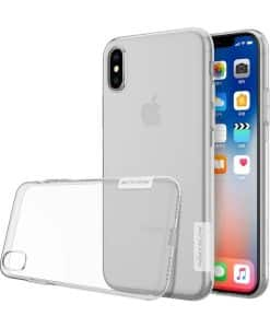 Apple iPhone X NILLKIN 0.6mm TPU Case, Kirkas.