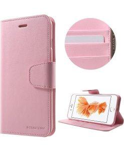 Apple iPhone 8 Plus Mercury Sonata Suojakotelo, Pink.