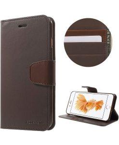 Apple iPhone 8 Plus Mercury Sonata Suojakotelo, Coffee.