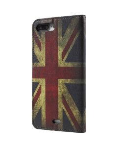 Apple iPhone 8 Plus WalletCase Suojakotelo, UK Flag.