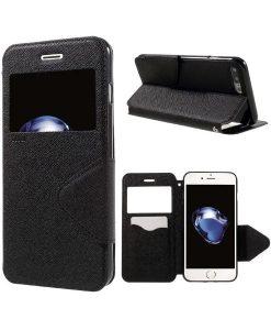 Apple iPhone 8 Plus Roar Korea SuojaKotelo, Musta.