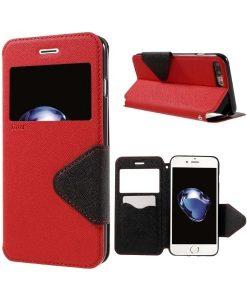 Apple iPhone 8 Plus Roar Korea SuojaKotelo, Punainen.