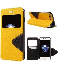 Apple iPhone 8 Plus Roar Korea SuojaKotelo, Keltainen.