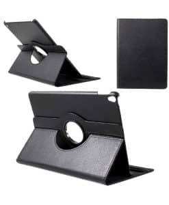 Apple iPad Pro 10.5 Rotary Stand Suojakotelo, Musta.
