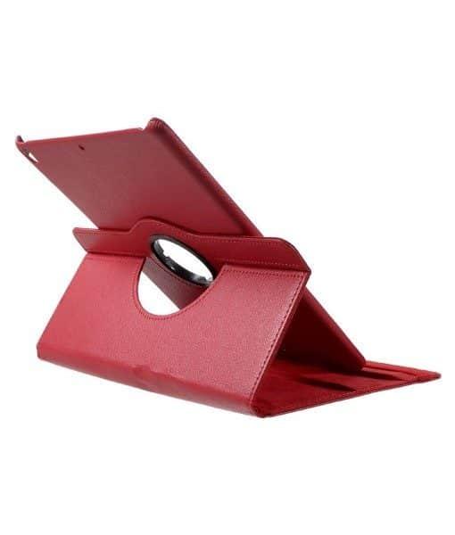 Apple iPad Pro 10.5 Rotary Stand Suojakotelo, Punainen.