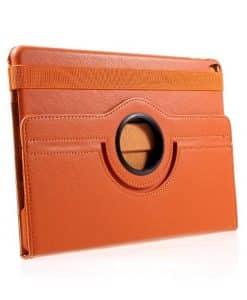 Apple iPad Pro 10.5 Rotary Stand Suojakotelo, Oranssi.